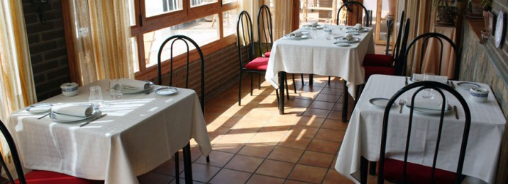 Ambiente cálido en el Restaurante Esteban